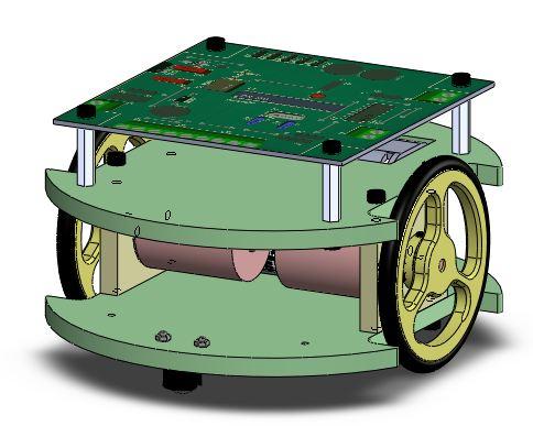 Challenge robotique au lycée Claude LEBOIS 2012